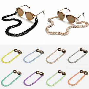 Unisex Girl Sunglasses Chains Glasses Necklace Chunky Lanyards Neck Holder Cord