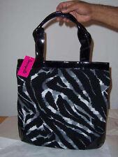 Betseyville Grey  North / South    Tote  Handbag  NWT  Cat's Meow