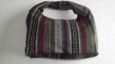 NEW WOMENS SHOULDERS BAGS COTTON MULTI COLOURED STYLISH