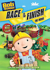 Bob the Builder Race to the Finish The Movie DVD  Let the Building Games Begin