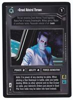 SWCCG Star Wars CCG • Grand Admiral Thrawn • REFLECTIONS 2 • RARE CARD NMINT