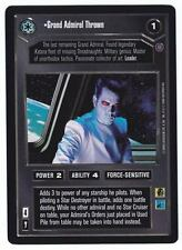 SWCCG Star Wars CCG • Grand Admiral Thrawn • REFLECTIONS 2 • RARE