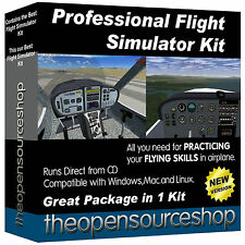 Professional Flight Simulator Package – Learn All About  Airplane Simulation