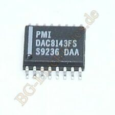 1 x DAC8143FS 12-Bit Serial Daisy-Chain CMOS D/A Convert Analog De SO-16 1pcs