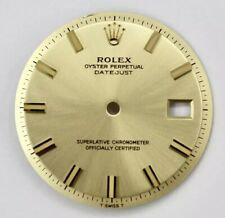 36mm Datejust 1601 1603 non-quick Rolex 28mm Champagne Stick Index Dial