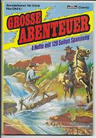 Grosse Abenteuer Nr.1009 - TOP Comic-Sammelband mit Silberpfeil Bessy Chick Bill