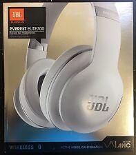 New Sealed JBL Everest 700 Elite Headband Wireless Headphones - White