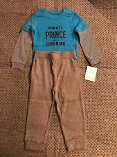 Carters Mommy's Prince Charming 2 Piece Bodysuit Pants 24 Months NWT