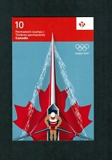 2012 CANADA STAMPS  BOOKLET # BK494  # 2556a ** LONDON SUMMER OLYMPIC 2012  n17
