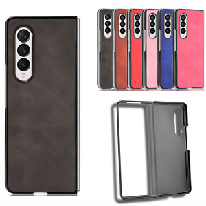 Brand New Mobile Phone Case Leather Shell Retro Cover for Samsung Galaxy Z Fold3