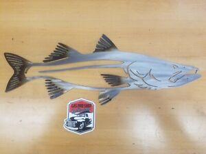Snook Metal Wall Art Plasma Cut Home Decor Fish
