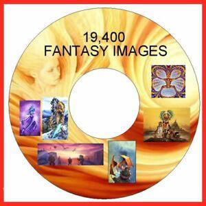 Fantasy Images 19400 on DVD, Cardmaking, Crafts