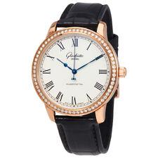 Glashutte Senator Silver Dial Automatic Mens Watch 39-59-01-15-04