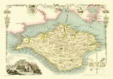 Map of the Isle of Wight 1836 by Thomas Moule - 1000 Piece Jigsaw Puzzle
