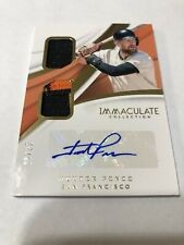 2018 Immaculate Hunter Pence San Francisco Giants Auto Game Used 3 Color 18/25