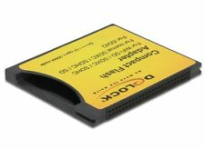 Delock 62637 Compact Flash Adapter for iSDIO (WiFi SD), SDHC, SDXC Memory Cards