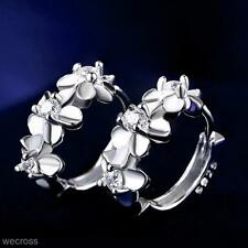 Earings Fashion Jewelry Plum Blossom Pure And Fresh Ear Clip Flower Ear Ring New