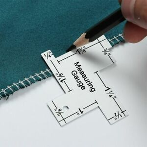 DIY Craft Measuring Gauge Tailor Ruler Patchwork Quilting Template Sewing Ruler