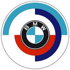 """#k145 3.5"""" BMW Rondel Vintage Emblem Decal Sticker Laminated"""