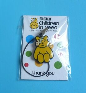children in need Pudsey Bear phone charm charity