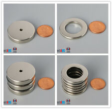 """32mm 1 1/4"""" Outer diameter Rare Earth Neodymium Multiple Size Ring Magnet Crafts"""