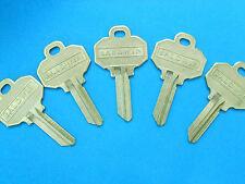 (5) BALDWIN Original  Key Blanks NEW 5-pin UNCUT also fits SCHLAGE EMTEK MARVIN