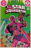All-Star Squadron Annual #1 in Near Mint minus condition. DC comics [*zu]