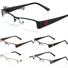 New Mens Women Clear Fake Lens Rectangular Eye Glasses Nerd Retro Fashion Frame