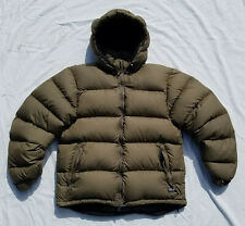 Mountain Equipment Co-Op Tremblant Parka Goose Down Puffer Coat Jacket Brown MEC