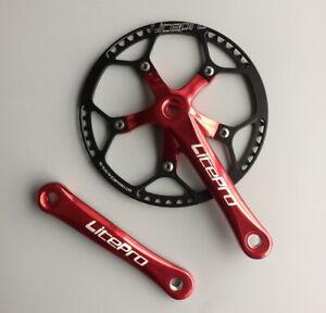 Litepro MTB Road Folding Bike Crankset 170mm crank arm+Chainring 45/47/53/56/58T