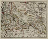 Amersfoort Utrecht Holland Netherlands city plan c. 1770 Gravius detailed map