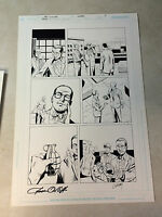 THE ATOM - DC PRESENTS #1 original art ATTACHED TO A HAND GRENADE, SIGNED