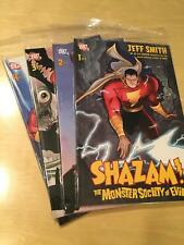 SHAZAM ! THE MONSTER SOCIETY OF EVIL by Jeff Smith full run 1- 4 NM-