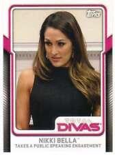 2017 Topps WWE Wrestling Total Divas #7 Nikki Bella