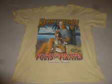 Kenny Chesney Poets & Pirates 2008 Tour Concert Shirt Large Gildan Country Tee >
