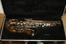 Bundy 2 Saxophon - Gold Ohne Mundstück ohne S Bogen mit  Koffer