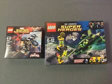 LEGO Carnage's SHIELD Sky Attack (76036) & Green Lantern Vs Sinestro (76025)
