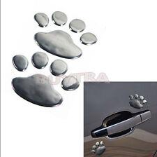 2X Bear Paw Pet Animal Footprints Emblem Car Truck Decor 3D Stickers Decal JR