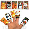 5 x CHRISTMAS FINGER PUPPETS BOYS GIRLS TOY XMAS GIFT PARTY BAG STOCKING FILLER