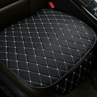 Front Seat Cover Cushion Black PU Leather Chair Pad Car Accessories Universal