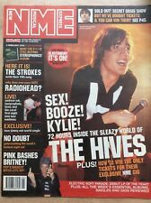 NME New Musical Express 2/02/02 The Hives, Haven, Radiohead