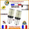 2 x ampoule CANBUS 144 LED BA15S 1156 P21W BLANC Voiture Feux Jour Clignotant