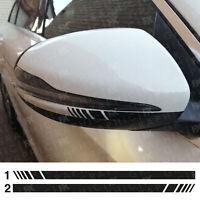 BLACK Mercedes Benz Brabus Wing Mirror Decals Stickers