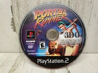 Sony Playstation 2 PS2 Portal Runner Game Disc Only Professionally Cleaned