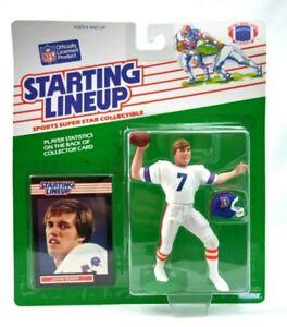 NEW NOS 1989 Kenner NFL Starting Lineup John Elway Denver Broncos F