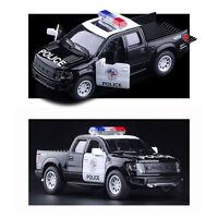 Ford F150 SVT Raptor Supercrew Police Pickup Vehicle Model Diecast Truck Car Toy