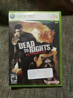 Dead to Rights: Retribution (Microsoft Xbox 360, 2010) new