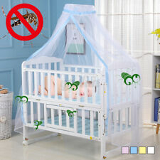 Kid Baby Bed Canopy Bedcover Mosquito Net Curtain Toddler Crib Cot Bedding Tent