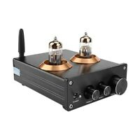 Buffer HiFi 6J5 Bluetooth 4.2 Tube Preamp Amplifier Stereo Preamplifier with W2E