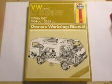 VOLKSWAGEN VW LT VAN LT28 LT31 T35 LT40 LT45 HAYNES WORKSHOP MANUAL PETROL 76-87